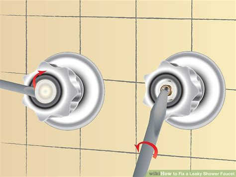 how to fix a leaky bathroom faucet how to fix a leaky shower faucet 11 steps with pictures