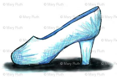glass slippers are so back cinderella s glass slipper fabric essieofwho spoonflower