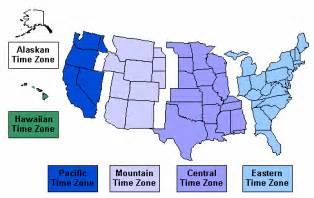 united states map of time zones images and places pictures and info september 2009