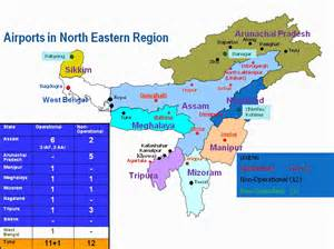 northeast us airports map map ministry of development of eastern region