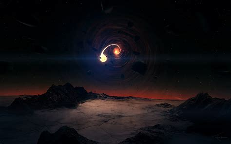 imagenes del universo increibles black hole scene wallpapers hd wallpapers id 11938