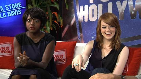 emma stone viola davis movie emma stone viola davis on the help and why emma cries at