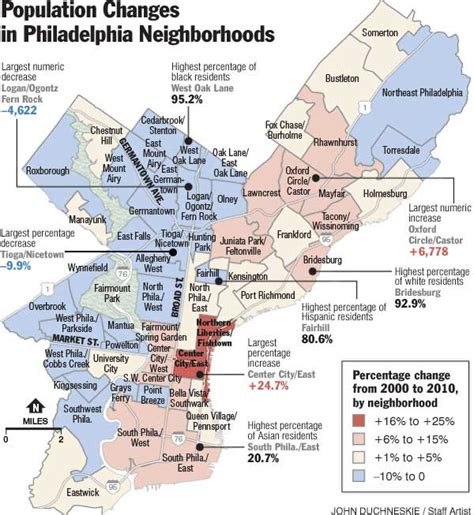 philadelphia map by neighborhood