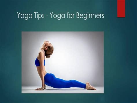 ppt templates for yoga yoga tips yoga for beginners authorstream