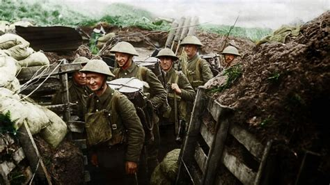 imagenes increibles de guerra 20 im 225 genes a color de la primera guerra mundial