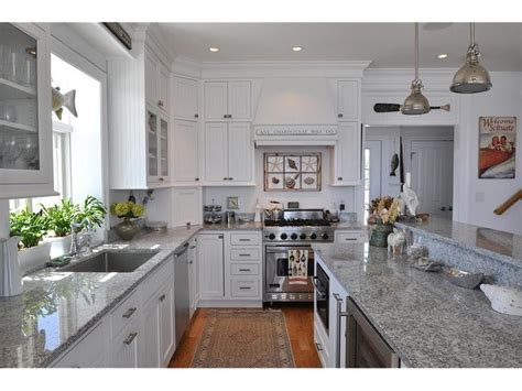 white and grey coastal kitchen home kitchen ideas