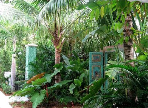 Garden And Gun Key West Lush Gardens Feeling Tropical Picture Of