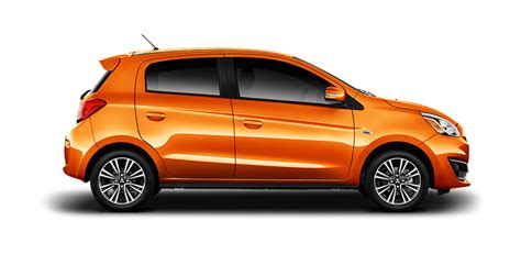 orange cars 2017 the fuel efficient 2017 mitsubishi mirage mitsubishi motors