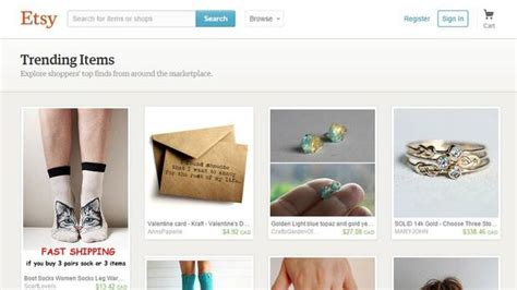 Handmade Selling Websites - etsy crafts ipo putting new york tech startups back on