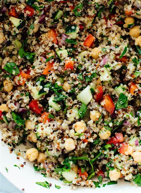quinoa salad recipes favorite quinoa salad recipe cookie and kate