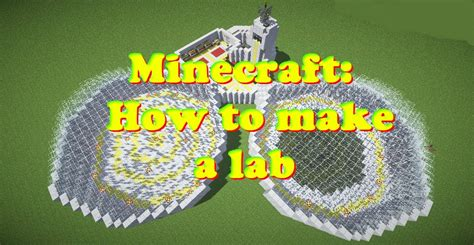 Blueprints For My House minecraft how to make a lab part 2 youtube