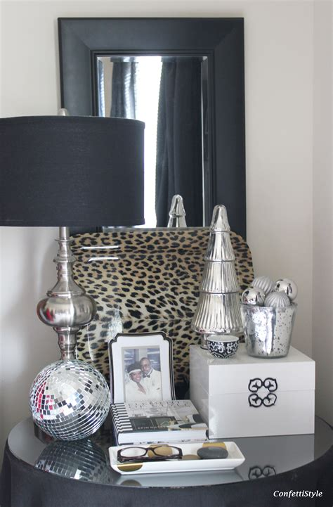 silver home decor accessories christmas decor in the bedroom confettistyle