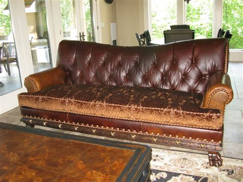 leather sofa with buttons installing button leather tufted sofa the decoras