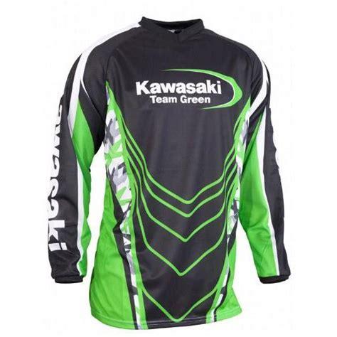 kawasaki motocross jersey тийм грийн мотоциклети екипировка и сервиз офроуд