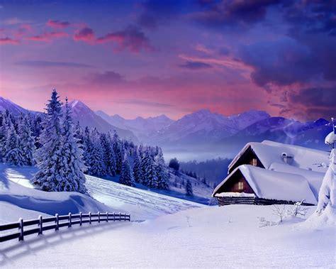 beautiful winter how to set below image as wallpaper