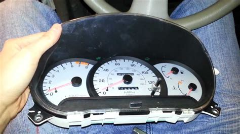 manual repair free 2002 hyundai accent instrument cluster 2002 hyundai accent instrument cluster troubleshoot or replacement youtube