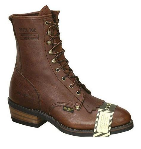 adtec boots adtec s 9 quot western work packer boots steel toe leather
