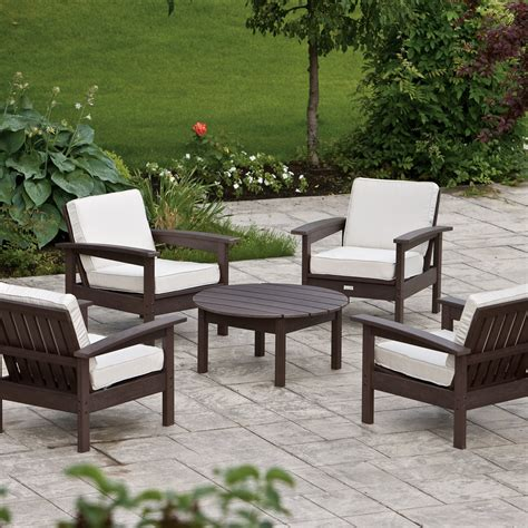 Patio Furniture Conversation Sets Eon Resin Outdoor Conversation Set Conversation Patio