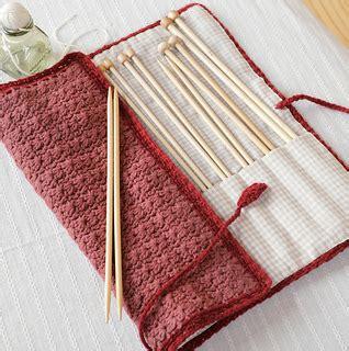pattern needle holder ravelry amicomo7 10 needle case pattern by pierrot gosyo