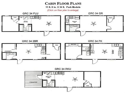 park model homes floor plans park model cabin floor plans park model cabin interiors
