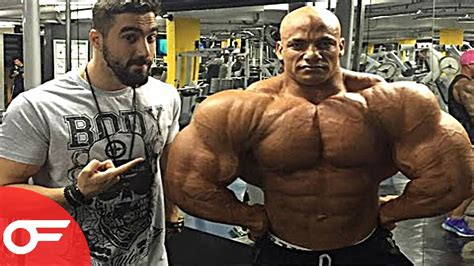 bid asta bodybuilder 150kg big ramy