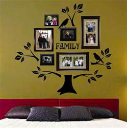 Family Wall Art Stickers Usa Vinyl Wall Lettering Decal Large Family Tree Kit Birds
