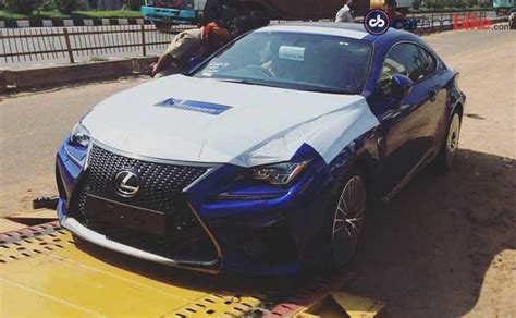 lexus india lexus rc f coupe and rx suv spotted in india ahead of