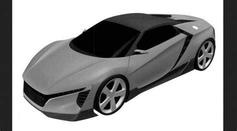 gambar paten mobil sport honda terbaru sudah bocor mobilmo