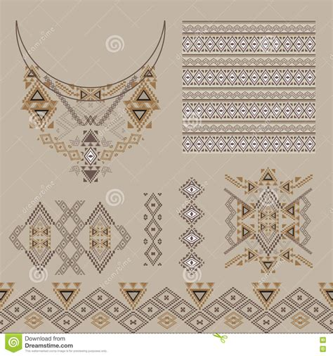 design elements in fashion vector set of decorative elements for design and fashion