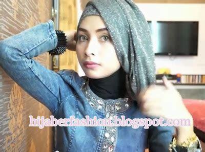 tutorial hijab pashmina cantik ke pesta pintar pakai jilbab tutorial hijab praktis untuk pesta