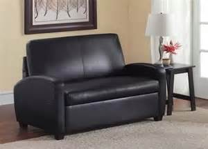 black sofa sleeper loveseat convertible bed