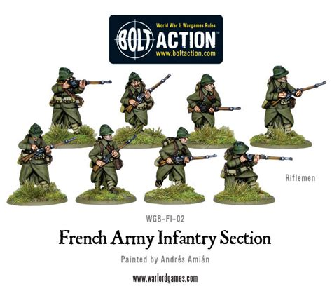 army s sections french army infantry section