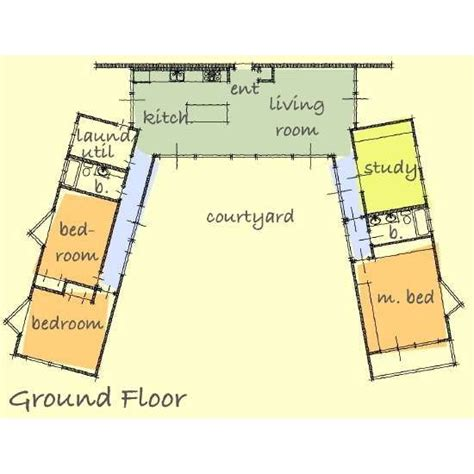 u shaped house plans 47 best images about u shaped houses on pinterest house