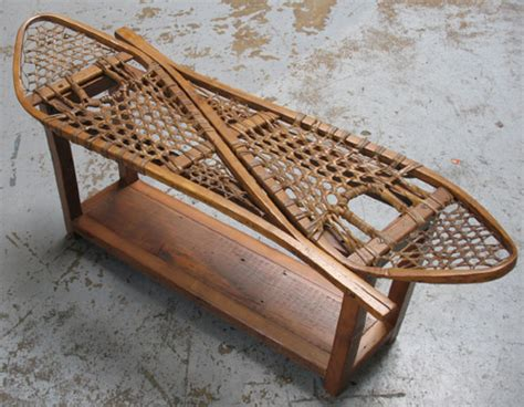snowshoe coffee table in Lodge