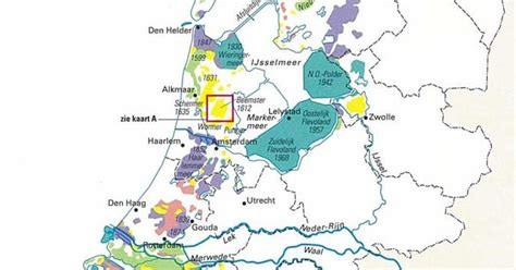 netherlands map reclaimed land land reclamation in the netherlands since 1300 maps