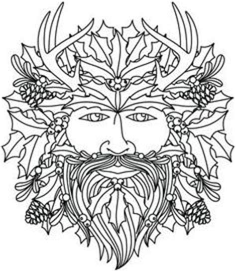 wiccan pagan coloring pages on pinterest embroidery