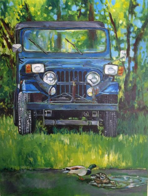acrylic painting of jeep 17 best images about latham on