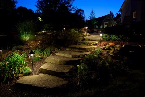 Lighting In Landscape Landscapes Landscape Lighting