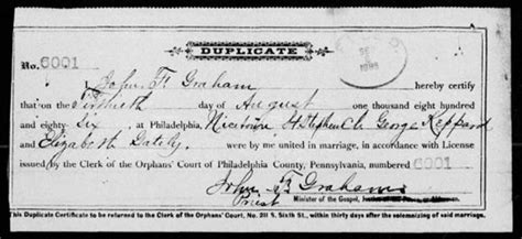 Phila Marriage Records Most Recent Genealogy Records For United States
