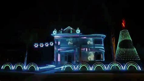An Incredible Star Wars Christmas Light Show Set To A Dubstep Light Show