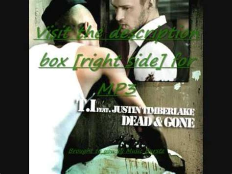 dead and gone mp t i feat justin timberlake dead gone download free