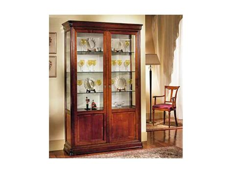 wooden showcase showcase made of cherry wood handcrafted idfdesign