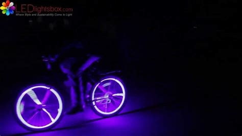 Led Light Strips For Bikes Ledlightsbox Glow Bicycle Led Lights