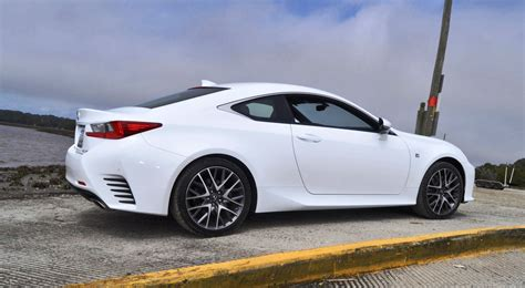 lexus sports car white 2015 lexus rc350 f sport review