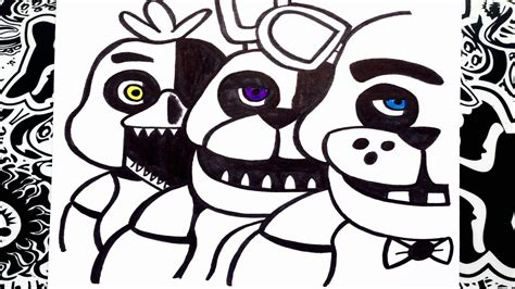 imagenes de five nights at freddy s faciles para dibujar como dibujar a five nights at freddy s 1 how to draw
