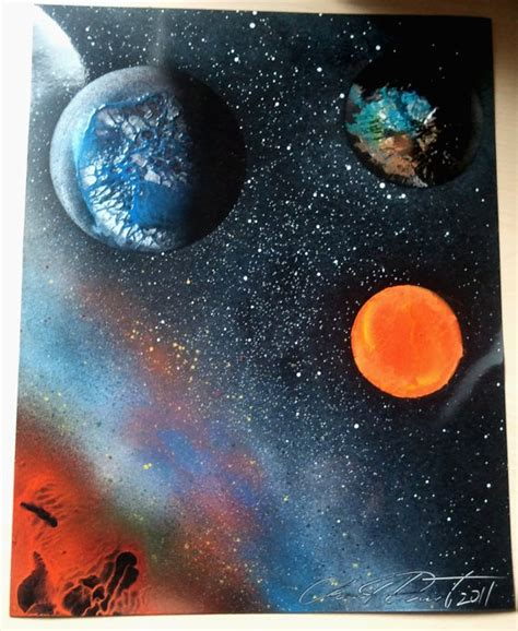 spray paint planets 1000 images about spray painting on canvases