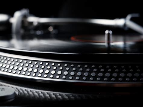 turn table dj turntable wallpapers wallpaper cave