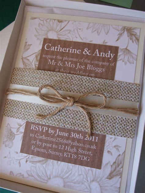hessian wedding invitations 129 best hessian burlap images on hessian fabric jute and lace