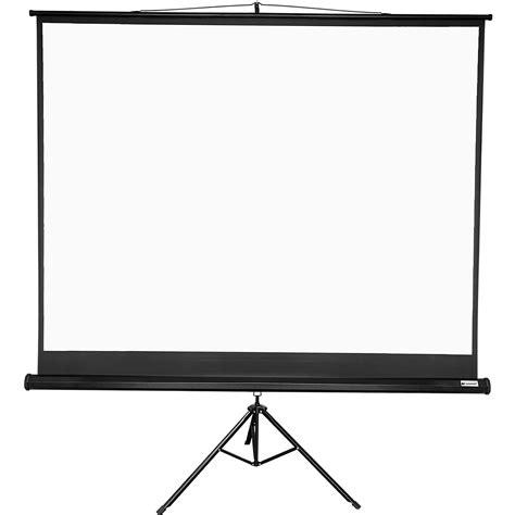 Tripod Projector Screen voilamart 120 inch portable tripod stand projector screen