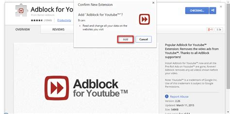 chrome extension adblock how to block youtube advertisements using adblock for